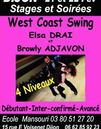 21-22 Febuary : West coast swing Workshop, Dijon