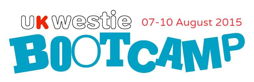 7 -10 August 2015 : UK Westie Bootcamp