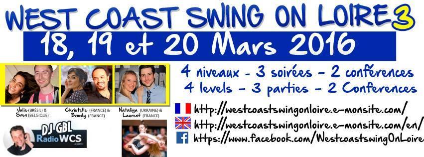 18 -20 March, West Coast Swing on Loire 3, France