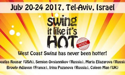 20-24 july : Swing it like it's hot 2017
