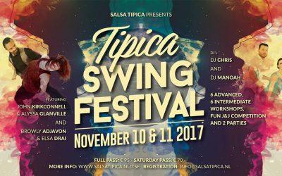 10 – 11 November, Tipica Swing Festival
