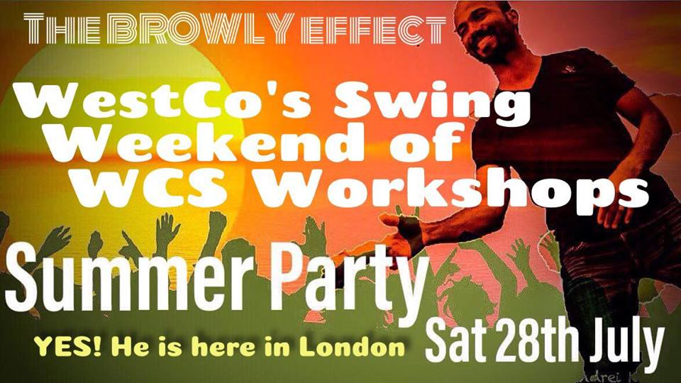 28 – 30 July 2018 : WestCo's Swing : The Browly Effect