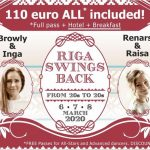 6 – 9 mars 2020 : Riga Swings Back