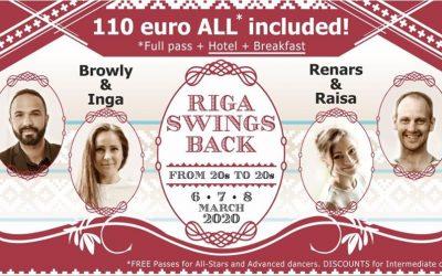 6 – 9 mars 2020 : Riga Swings Back