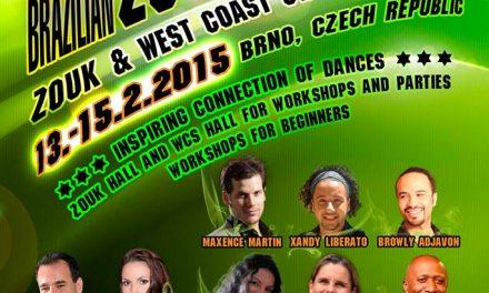 13-15 Febuary: 3rd WestZouk TIME!, Brno, Czech Republic