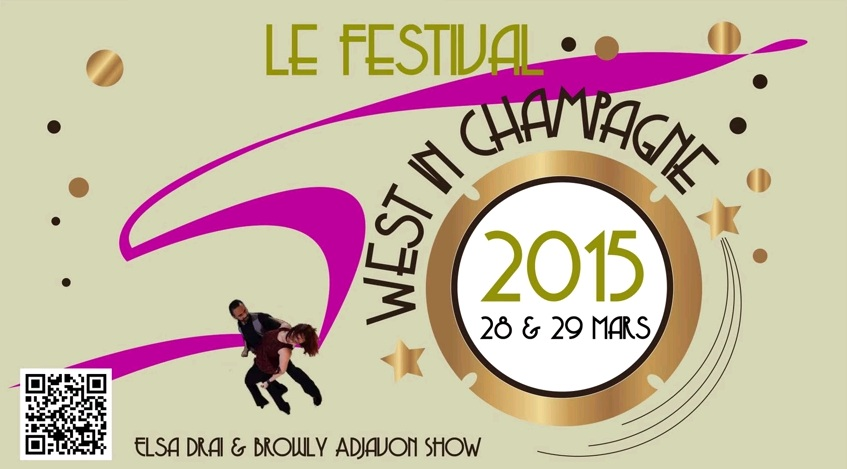 8-10th April: Festival West in Champagne, Reims