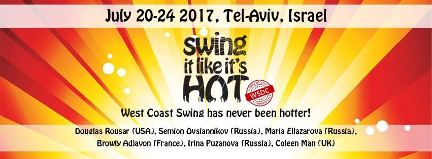 20-24 july : Swing it like it's hot 2017