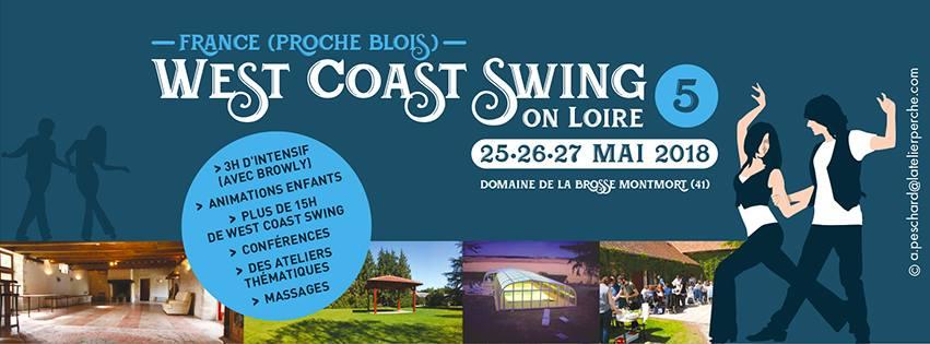 25 – 27 May 2018 : WestcoastSwing On Loire