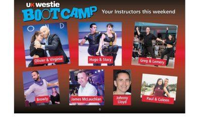 13 – 16 July 2018 : UK Westie Bootcamp