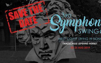 22 – 25 August 2019 : 3rd Symphony Swing